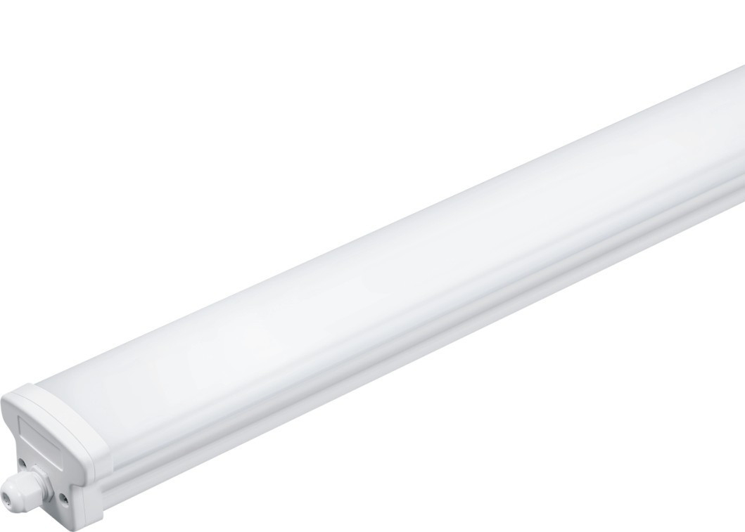 30w 4 Feet Waterproof LED Lights , Extrusion LED Emergency Batten For Supermarket